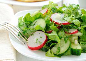 Салати із зелені сприяють стрункості