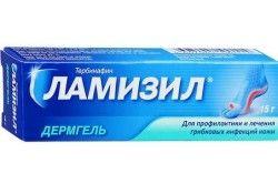 Ламізил для лікування грибка на нігтях
