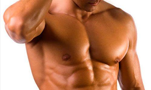 Накачані грудні м`язи