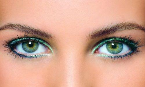 Професійні уроки макіяжу очей для зелених очей