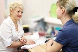 Консультація лікаря при клімаксі