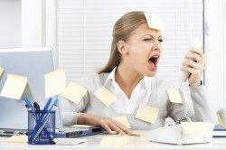 Стрес - причина сильного запаху поту