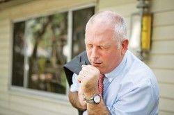 Задишка при безбольової ішемії міокарда