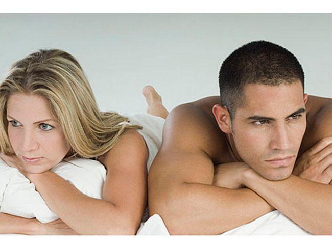 Чому не виходить в ліжку у чоловіків?