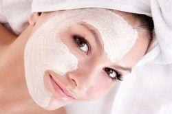 Молочна тонізуюча маска для обличчя