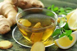 Імбирний чай для лікування застуди