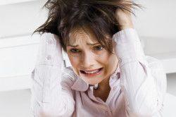 Стрес - причина екземи
