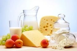 Молочні продукти -причина здуття живота