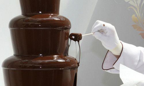 Рецепт приготування шоколадного фонтану