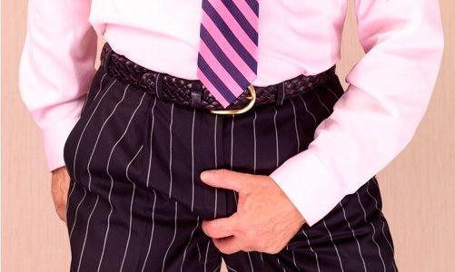Виникнення свербіння в паху у чоловіків