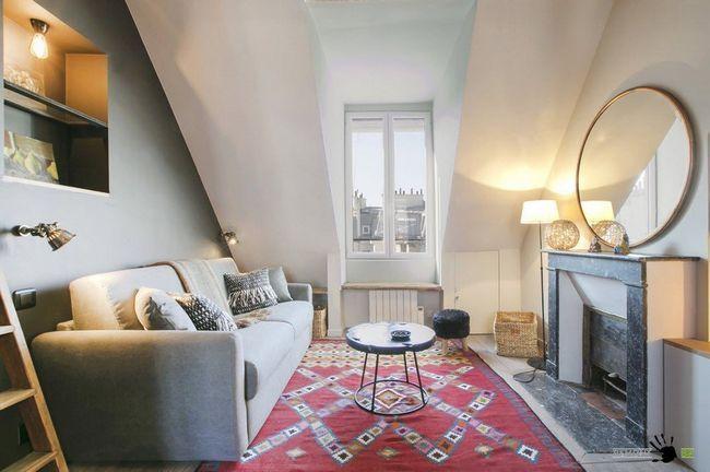 Дизайн вітальні в класичному стилі